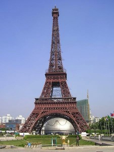 Eiffel Tower in Shenzhen