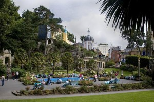 Portmeirion central plaza