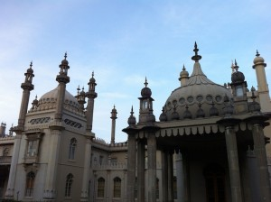 Royal Pavilion built in the Indo-Saracenic style
