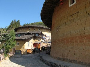 Tulou - earth buildings