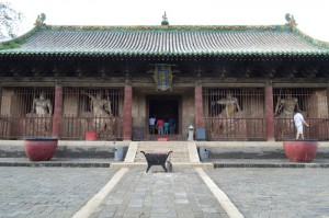 Shuanglin temple main hall
