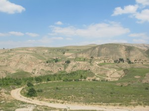 Loess Plateau, perfect for cave dwellings