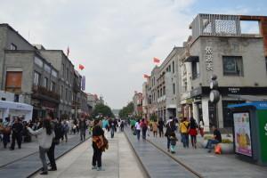Qianmen Dajie after renovation