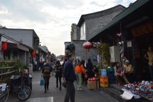 A street in Dashilar during Design Week