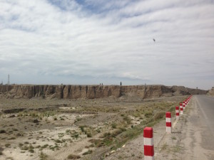 Gansu's arid plains