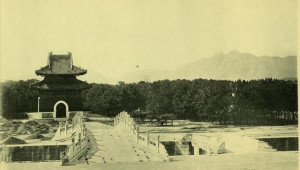 Restoration Plans for the Eastern Qing Tombs
