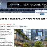 Big Plans For China's Huge Eco-City